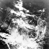 Tokyo Burns under B-29 Firebomb Assault Photo
