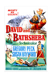 David and Bathsheba Posters