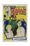 Tarzan the Fearless Posters