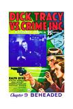 Dick Tracy vs. Crime Inc Prints