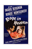 Rage in Heaven Print