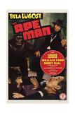 The Ape Man Plakater
