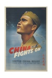 China Fights On Posters
