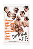 Dinner at Eight Posters