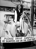 Movie Star Rita Hayworth Sacrificed Her Bumpers for World War 2 Scrap Metal Drive Photo