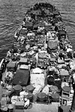 Coast Guard-Manned LST Crammed with Marines and Material for the Invasion of New Britain Photo