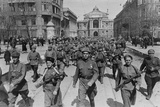62nd Stalingrad Army Parades in Odessa Photo