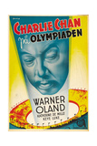Charlie Chan at the Olympics Plakater