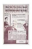 Umberto D Posters