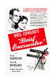Brief Encounter Umělecké plakáty