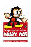 Krazy Kat Promotional Poster Affiche