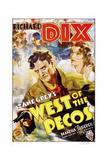West of the Pecos Prints