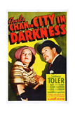 Charlie Chan in City in Darkness Posters