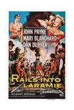 Rails into Laramie Print