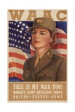 Recruiting Poster for the Women's Army Auxiliary Corps Print
