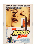 The Naked Kiss Posters