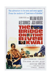 The Bridge on the River Kwai Planscher