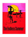 Den ändlösa sommaren, engelska Posters