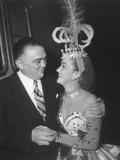J. Edgar Hoover and Actress Dorothy Lamour Photo