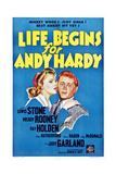 Life Begins for Andy Hardy Prints