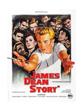 The James Dean Story Prints
