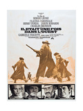 """Harmonica - en hämnare, """"Once Upon a Time in the West"""" Posters"""