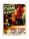 Charlie Chan in Reno Premium Giclée-tryk