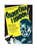 Charlie Chan in London Print