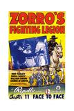 Zorro's Fightng Legion Posters