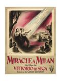 Miracle in Milan Poster