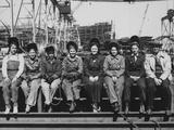 Women Welders of Ingalls Shipbuilding Corp. Photo