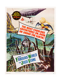 The Fabulous World of Jules Verne Posters