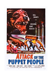 Attack of the Puppet People Prints