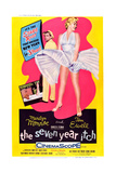 The Seven Year Itch Art