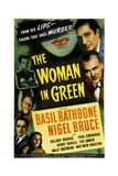 The Woman in Green Prints