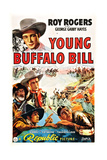 Young Buffalo Bill Print