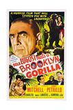 Bela Lugosi Meets a Brooklyn Gorilla Posters