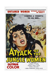 Attack of the Jungle Women Prints