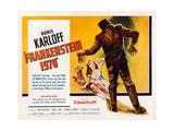 Frankenstein 1970 Print