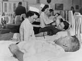 San Quentin Prisoners Contribute their Blood to the Red Cross During World War 2 Photo