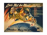 General Motors World War 2 Poster Poster