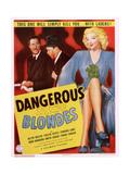 Dangerous Blondes Posters