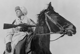 A Mounted Russia Scout with the Red Army in Feb Photo