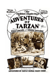 Adventures of Tarzan Prints