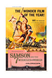 Samson and the 7 Miracles of the World Prints