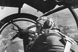 German Machine Gunner in an Airplane During First Days of World War 2 in Poland Photo
