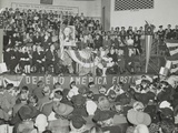 Charles Lindbergh Addresses 3 Photo