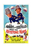 Abbott and Costello Meet the Keystone Kops Art