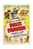 Buck Privates Posters