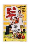 Ma and Pa Kettle at Home Umělecké plakáty